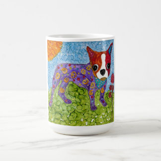 Boston Terrier 15 oz Mug (You can Customize)