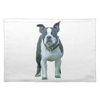 Boston terrier  1b placemat