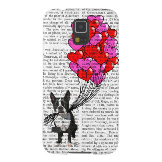 Boston Terrier And Balloons Galaxy S5 Covers