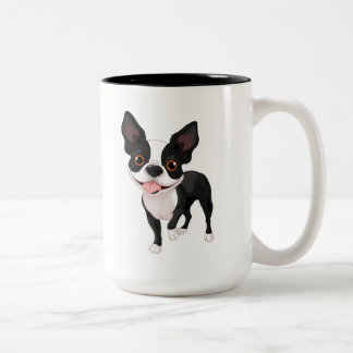 Boston Terrier Big Coffee Cup Mug