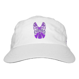 Boston Terrier Block Print Hat