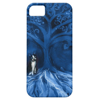 Boston terrier blue iPhone 5 cover