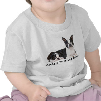 Boston Terrier Buddies Toddler Unisex T-Shirt