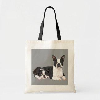 Boston Terrier Buddies Tote Bag