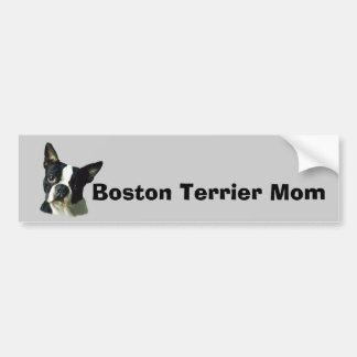 Boston Terrier Bumper Sticker