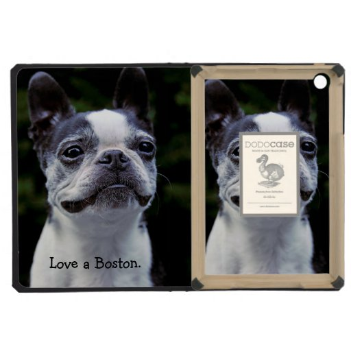 Boston Terrier iPad Mini Retina Cover