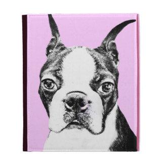 Boston Terrier iPad Folio Cases