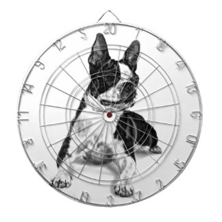 Boston Terrier Dartboard