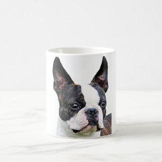"""""""Boston terrier"""" design mugs"""