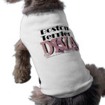 Boston Terrier DIVA Sleeveless Dog Shirt