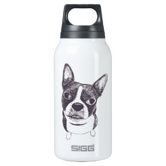 Boston Terrier Dog ARt by Carol Iyer 0.3L Insulated SIGG Thermos Water Bottle