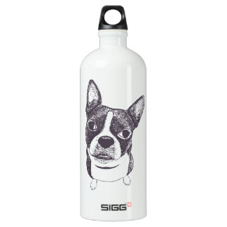 Boston Terrier Dog ARt by Carol Iyer SIGG Traveller 1.0L Water Bottle