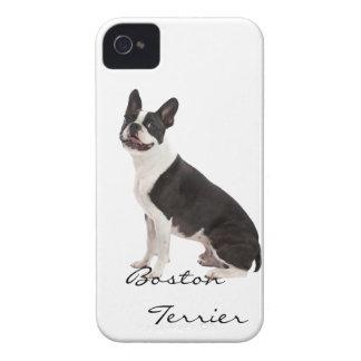 Boston Terrier dog beautiful photo, custom gift iPhone 4 Cover