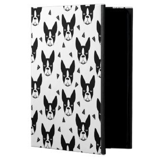 Boston Terrier Dog Black And White / Andrea Lauren iPad Air Cases