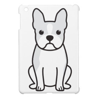 Boston Terrier Dog Cartoon iPad Mini Covers