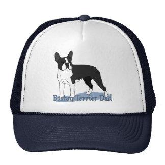 Boston Terrier Dog Dad Cap