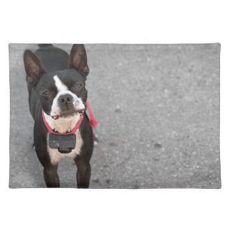 Boston Terrier Dog Place Mats