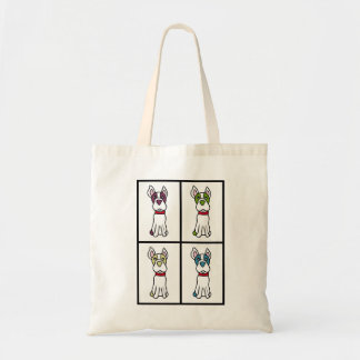 Boston Terrier Drawing Tote Bag