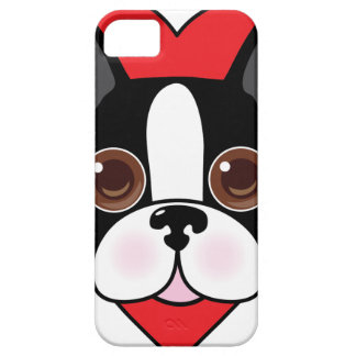 Boston Terrier Face Barely There iPhone 5 Case