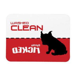 Boston Terrier French Bulldog Dishwasher Magnet