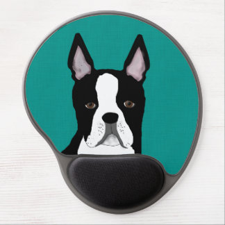 Boston Terrier Gel Mouse Pad