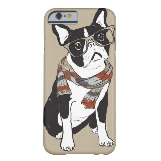 Boston Terrier, Hipster Animal, Hipster Dog Barely There iPhone 6 Case