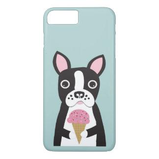 Boston Terrier & Ice Cream iPhone 8 Plus/7 Plus Case