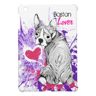 Boston Terrier iPad Mini Covers