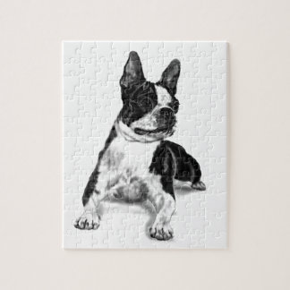 Boston Terrier Jigsaw Puzzle