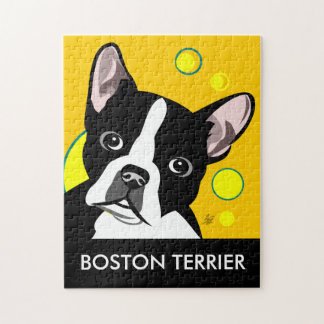 Boston Terrier Jigsaw Puzzles