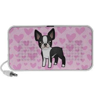 Boston Terrier Love (add your own pattern!) iPod Speakers
