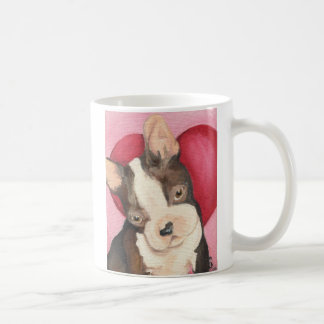 Boston Terrier Love Coffee Mug
