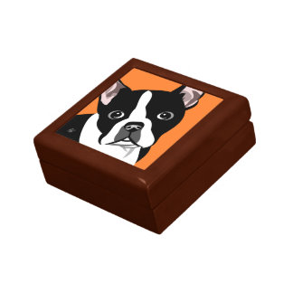 Boston Terrier Lover Gifts Gift Box