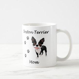 Boston Terrier Mom Coffee Mug