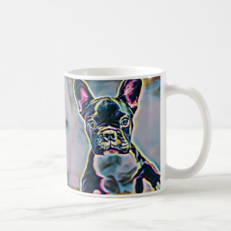 Boston Terrier Neon Mug