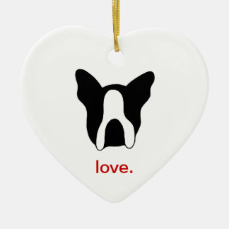 Boston Terrier Ornament