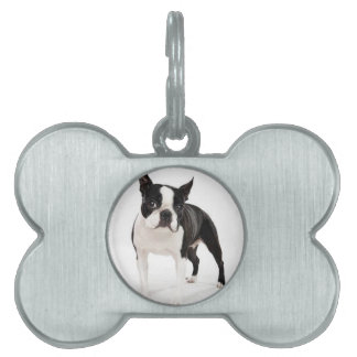 Boston Terrier Pet Tags