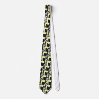 Boston Terrier Pup Necktie
