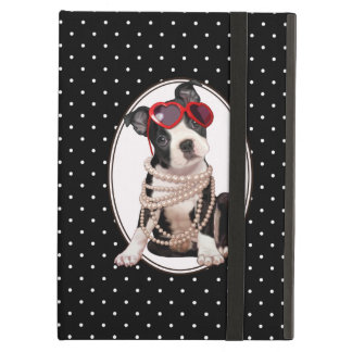 Boston Terrier Puppy Case For iPad Air