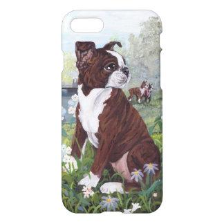 Boston Terrier Puppy Dreamer IPhone Case