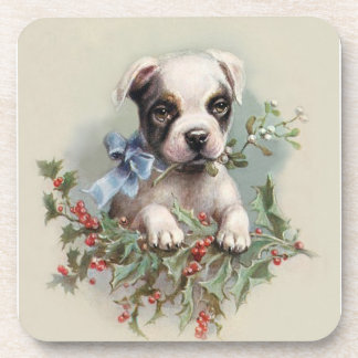 Boston Terrier Puppy - For Dog Lovers Coasters