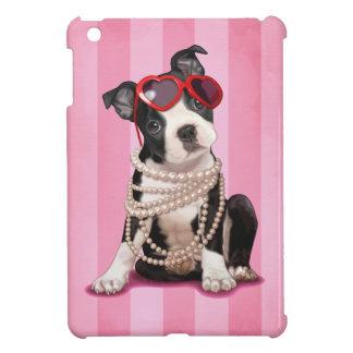 Boston Terrier Puppy iPad Mini Cases
