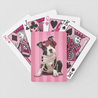 Boston Terrier Puppy Card Deck