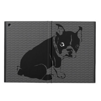 Boston Terrier puppy Woof iPad Air Cases