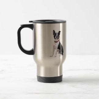 Boston Terrier (red collar) Coffee Mug