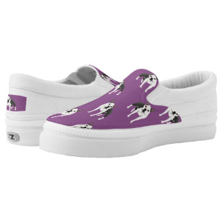 Boston Terrier Slip On Shoes