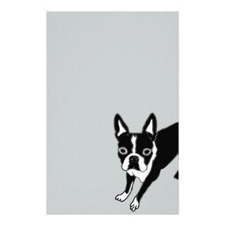 Boston Terrier Stationery