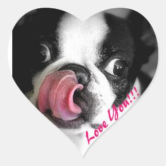 Boston Terrier Stickers
