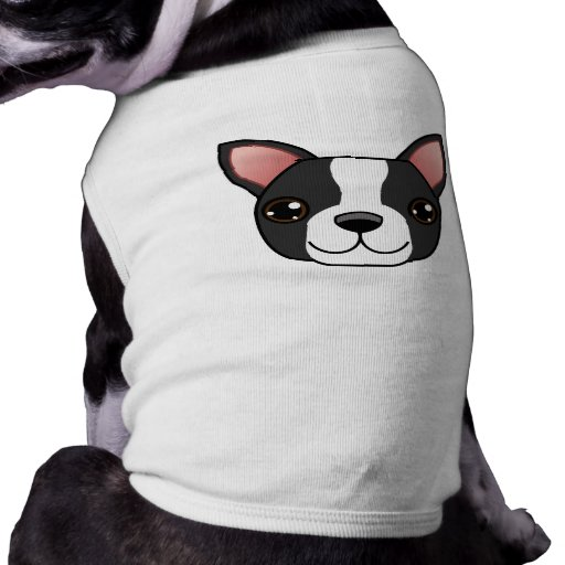Boston Terrier T-Shirt Sleeveless Dog Shirt