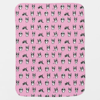 Boston Terriers Baby Blanket